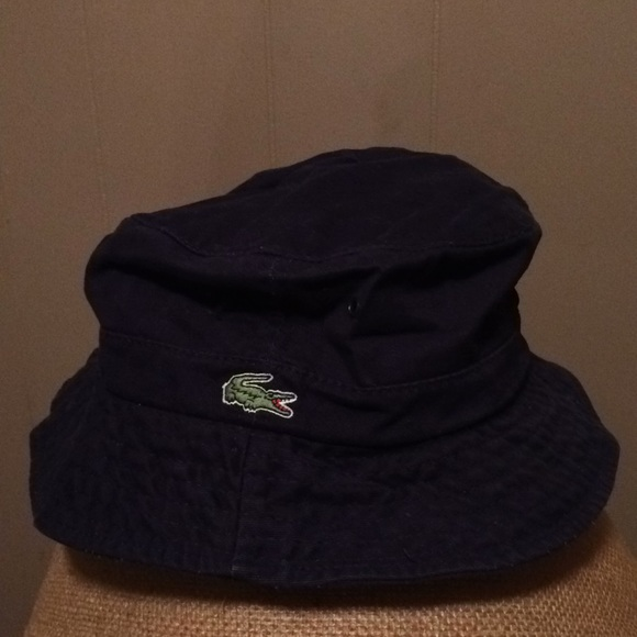 54f70360 Lacoste Accessories | Blue Bucket Hat Mens | Poshmark